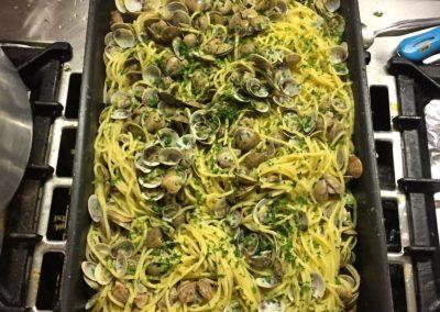 Spaghetti alle vongole - Pensione Jole Cervia