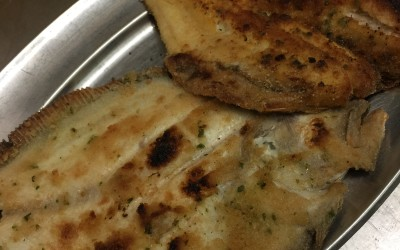La cucina di pesce alla Pensione Jole Cervia